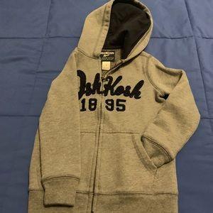 Oshkosh hoodie jacket size 5